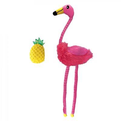 KONG for Cats Tropics Flamingo 2-Pack