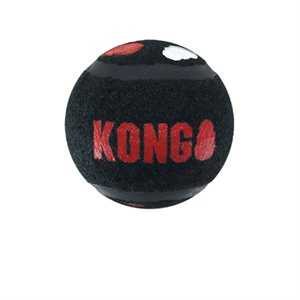KONG Balles « Signature » Sport Très-Petites Paquet de 3