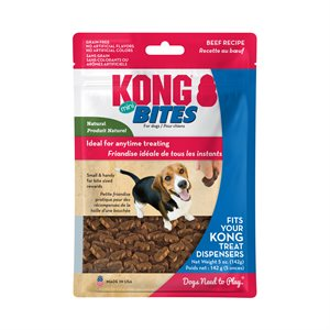 KONG Bites Mini Beef 5oz