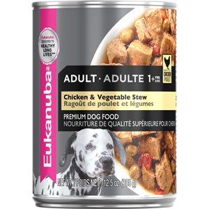 EUKANUBA Adult Chicken & Vegetable Stew Dog 12 / 12.5oz