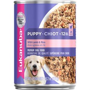 EUKANUBA Puppy With Lamb & Rice 12 / 13.2oz