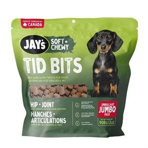 Waggers Jay's Original Tid Bits Functional Treats 908g