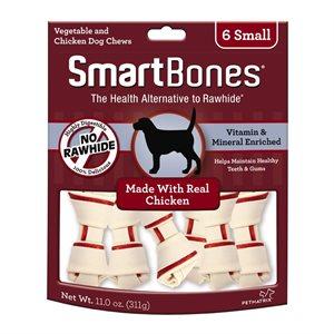 Spectrum Smart Bones Chicken Small 6 Pack