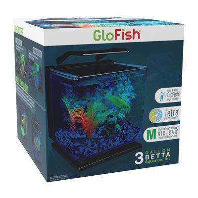 Spectrum Brands GloFish Betta Aquarium Kit 3 Gallons