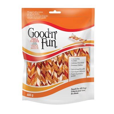 Spectrum Brands Good 'n' Fun Triple Flavor Twist Sticks 488 G