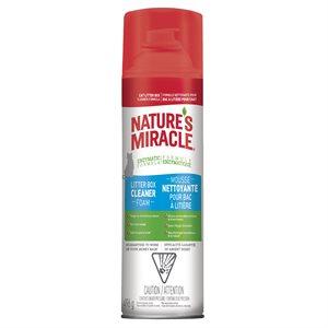 Spectrum Nature's Miracle Mousse en Aérosol Nettoyante pour Bacs à Litière 17.5oz