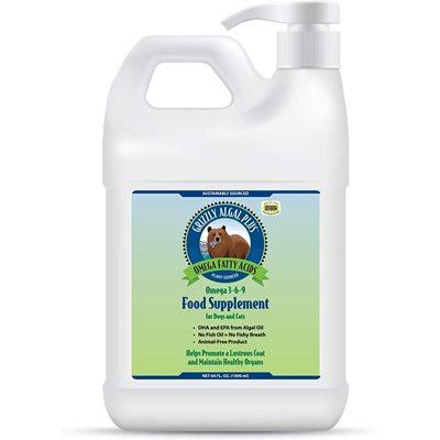 Grizzly Algal Plus Omega 3-6-9 Liquid Supplement 64oz