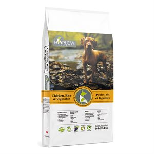 Harlow Blend Dog Food Chicken, Rice & Vegetable Formula 30LBS
