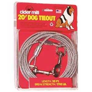 Cider Mill Tie Out Dog 15' Heavy