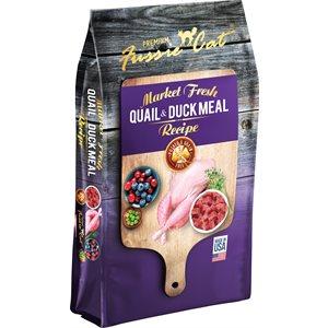 Fussie Cat Grain Free Quail & Duck Meal Formula 10LB