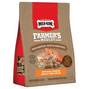 Smuckers Milk Bone Farmer's Medley Whole Grain Recipe Treats 4 / 340g