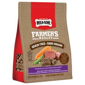 Smuckers Milk Bone Farmer's Medley Grain Free Lamb & Vegetables Treats 4 / 340g