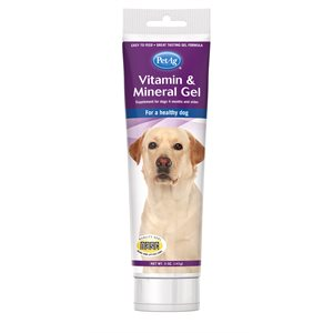 PetAg Vitamin & Mineral Gel for Dogs 5oz