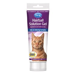 PetAg Hairball Solution Gel Cats 3.5oz